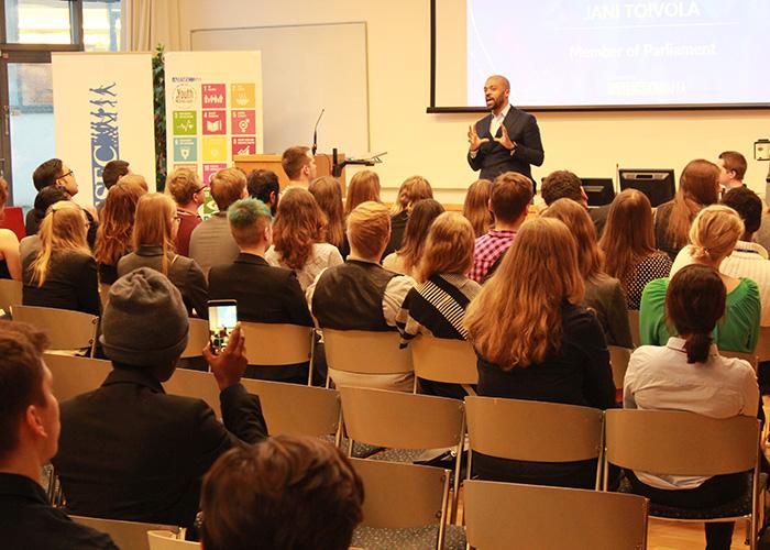 The first YouthSpeak Forum in Finland – Turku University of