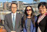 Guests from Tianjin University of Technology were impressed by sunny Turku
